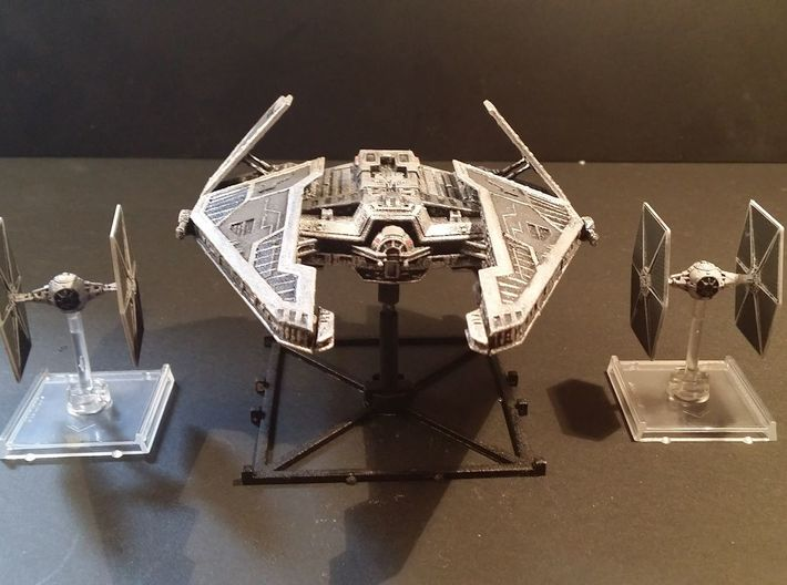 Sith Fury Interceptor (Wings Open) 1/270 3d printed