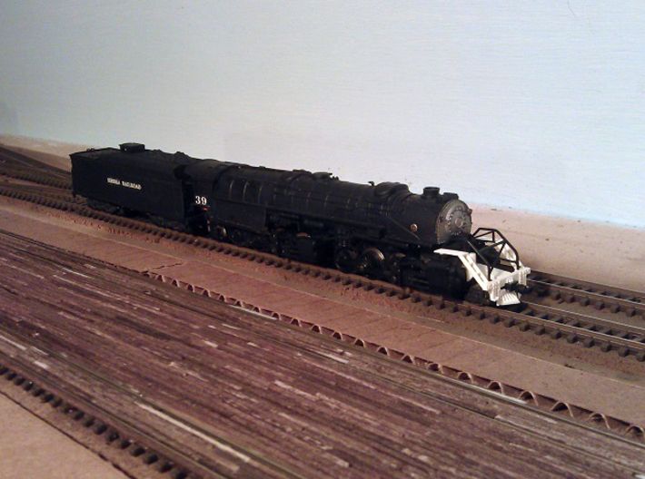 Rowa Y6B Pilots With Z & N Scale MT Couplings 3d printed Pilot with Z Scale MT Coupling