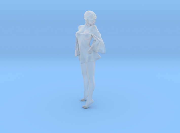 Skirt Girl-008-scale 1/32 3d printed