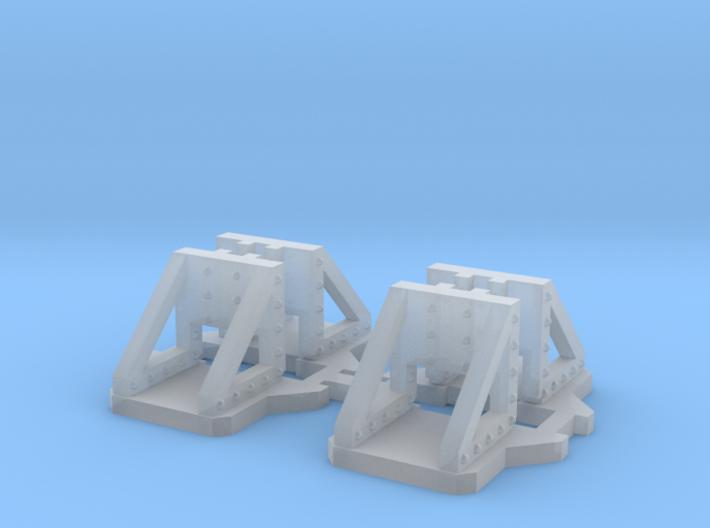 NV4M13 Modular metallic viaduct 1 3d printed