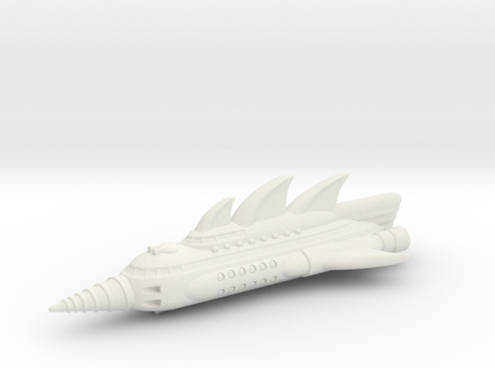 Phantom Battlecruiser 3d printed