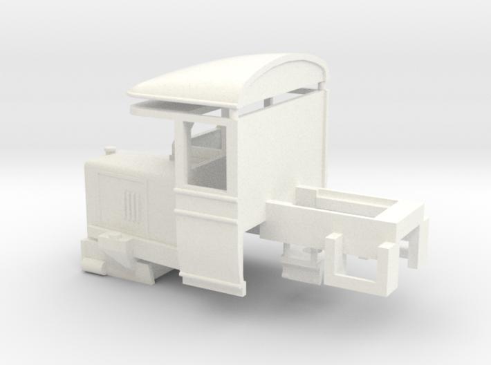 009 Atkinson Walker Railcar Cab - A 3d printed