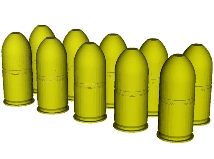 1/20 scale M-781 40x46mm grenades x 10 3d printed