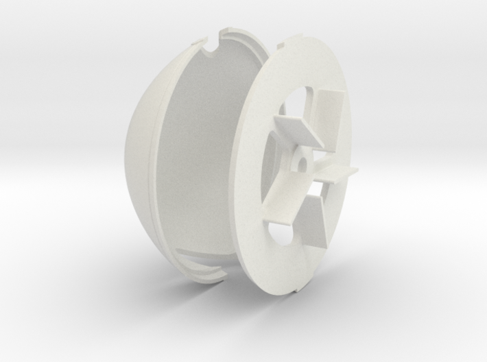 Albatros DVA Spinner - 4.5in diameter 3d printed