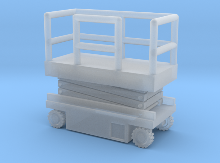 JLG Scissor Lift - Closed Position - Zscale 3d printed