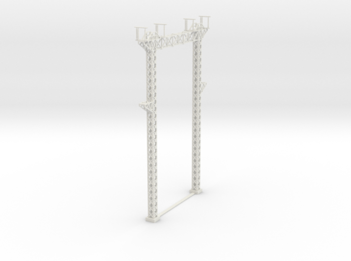 PRR SUB STATION 160 gantry 3d printed
