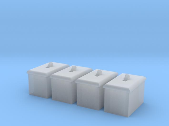 1/12 Light Switch, Qty 4 3d printed