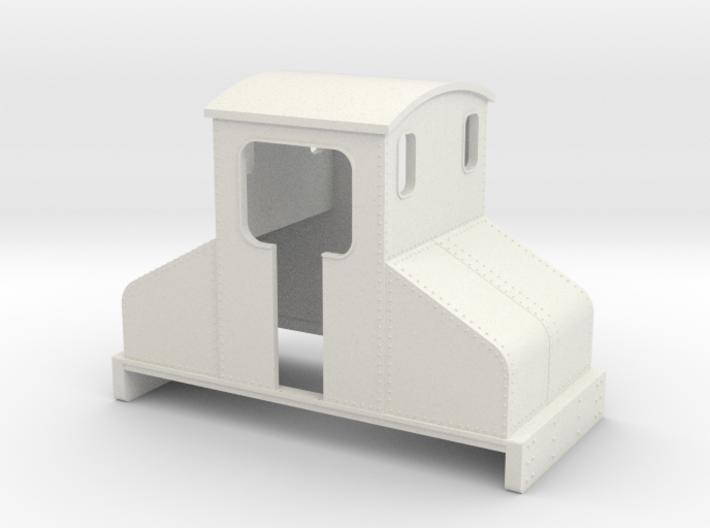 OO9 Steeplecab Electric Loco  3d printed