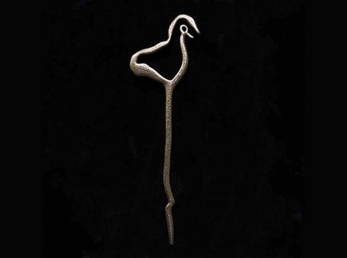 Early - Hair Pin - Ancient Roots 3d printed