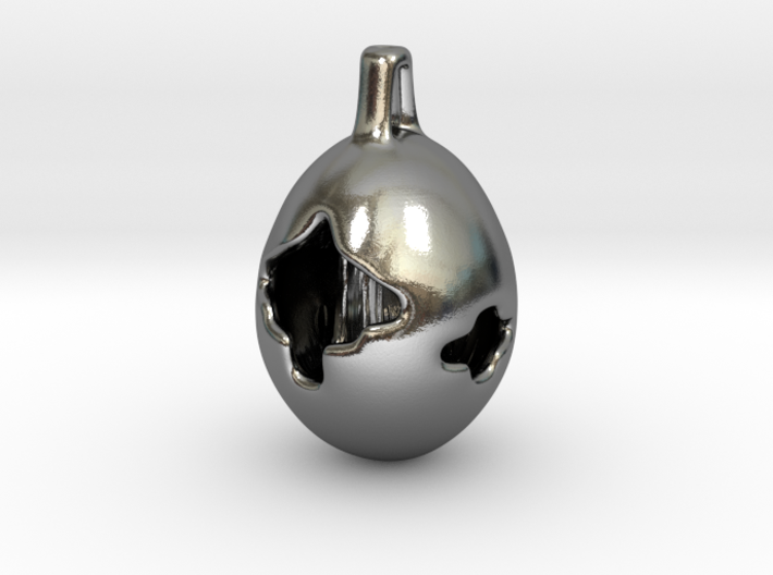 Fox Hollow - Pendant - Orphic Eggs 3d printed