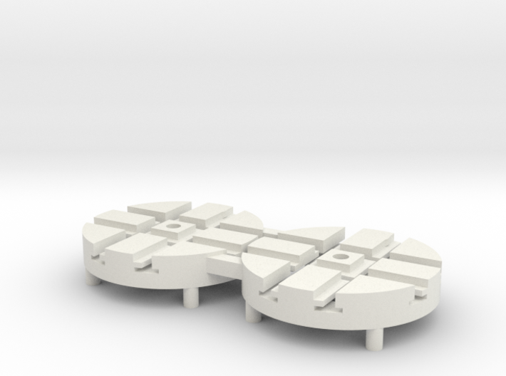 T-65-wagon-turntable-24d-100-1a 3d printed
