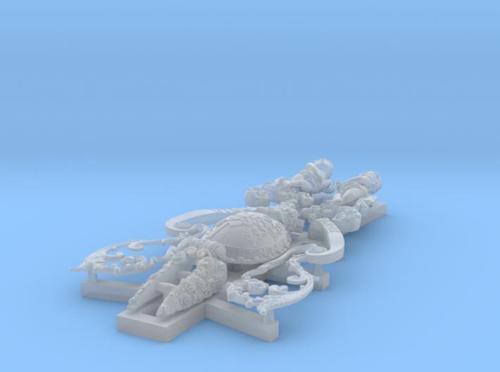 1:48 HMS Victory Figurehead 3d printed