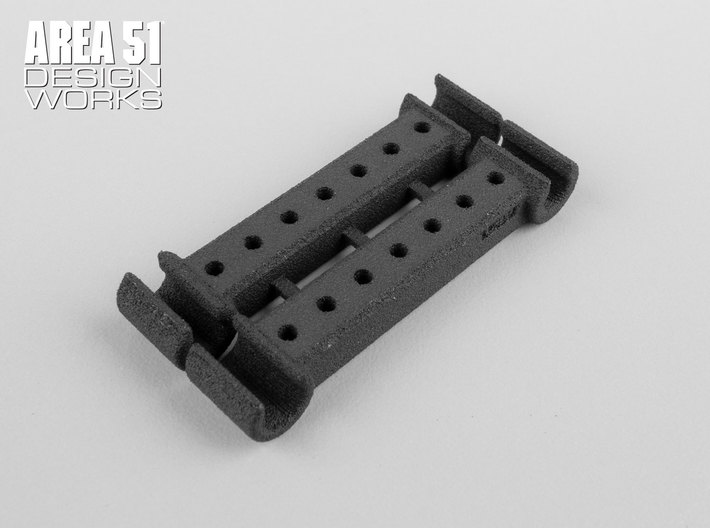 12th Scale Overland Rack Accessory Mount [2pcs] 3d printed