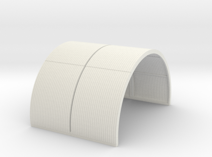 N-76-complete-nissen-hut-mid-16-36-1a 3d printed