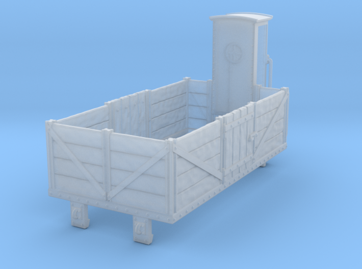 HOe-wagon01 - Dump truck crate 3d printed