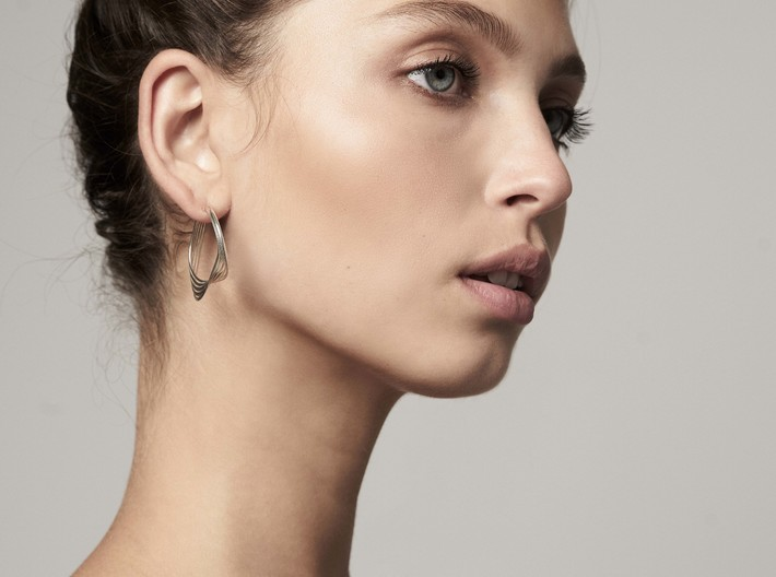 Liza Earring - Kukla collection 3d printed