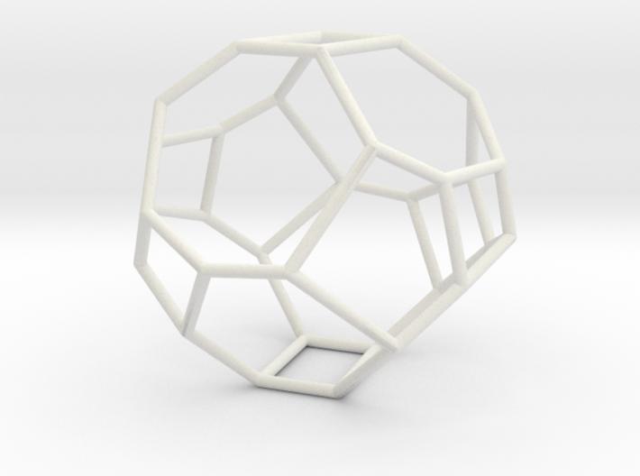 """Irregular"" polyhedron no. 3 3d printed"