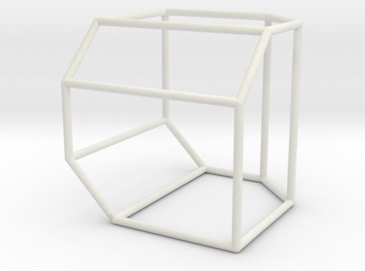 Associahedron K_5 3d printed