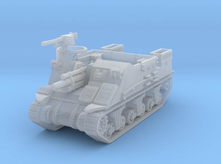 M7 Priest scale 1/160 3d printed