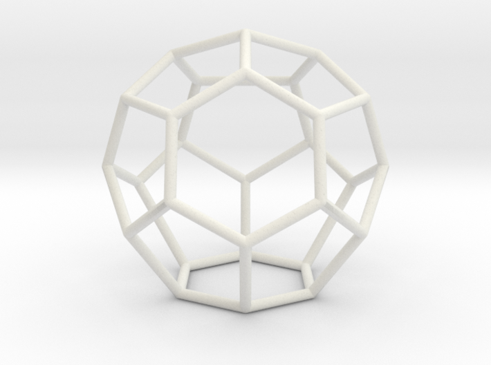 Fullerene with 16 faces, no. 1 3d printed