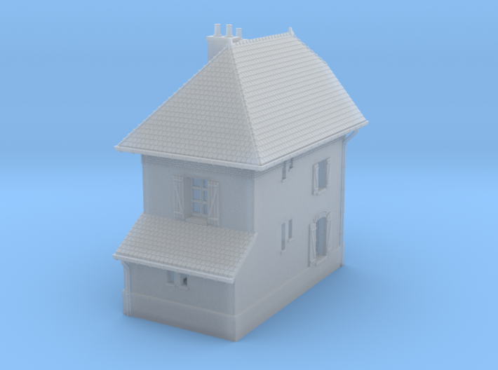 ZBay04 - Barrier Guard House right 3d printed