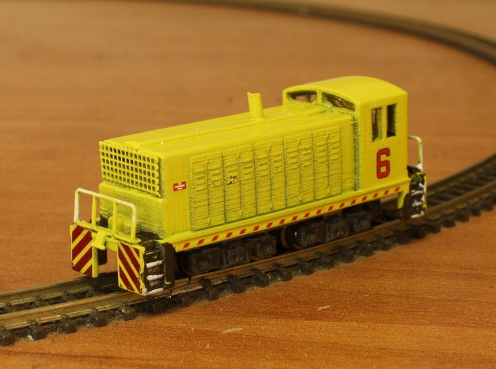 Open Window Switcher - Zscale 3d printed Details, Painting, and Photo by Kevin Smith