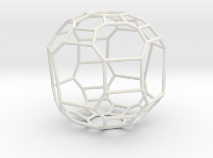 """Large """"irregular"""" polyhedron 3d printed"""