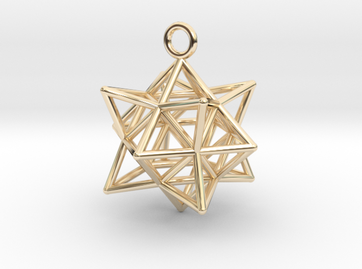 Stellated Cuboctahedron 35mm 3d printed