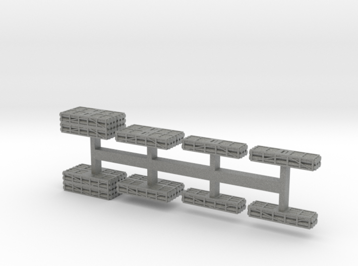 1 to 285 MLRS pod set 3d printed