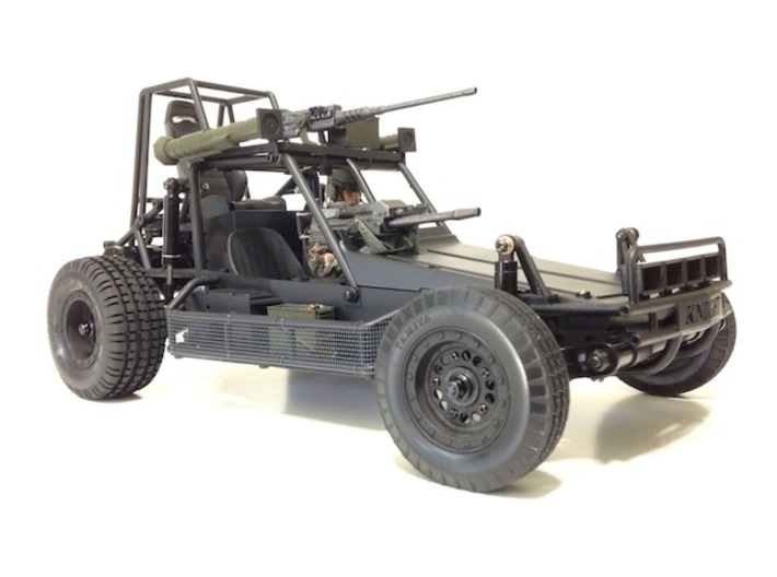 FA30004 Desert Patrol Vehicle Side Racks 3d printed Side racks shown installed on the Knight Customs DPV (sold separately)
