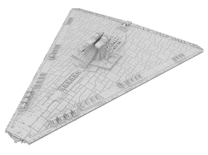 1:21000 - Secutor Star Destroyer 3d printed