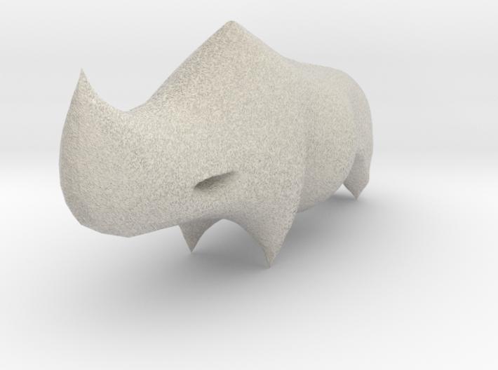 Rhino Sculplture 3d printed