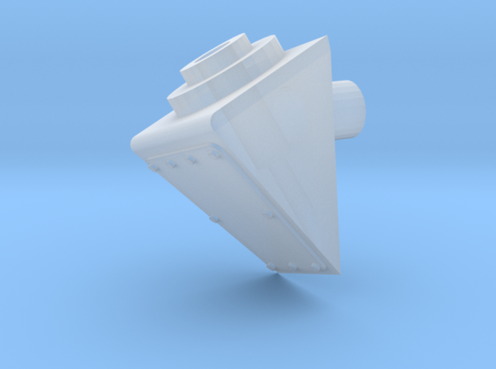 Antenna mount 20 degre 3d printed