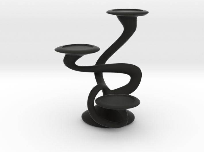 "Tripla Candelabra - Votive (1.5"") Candle 3d printed"