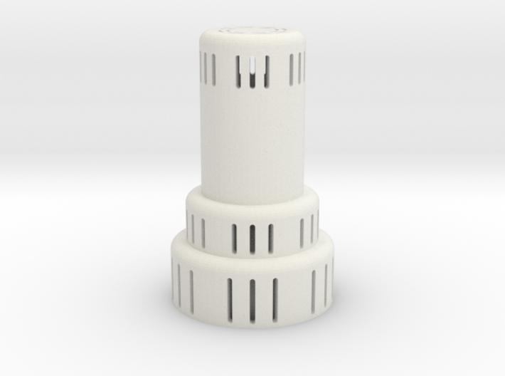 kerosene heater lighted 3d printed