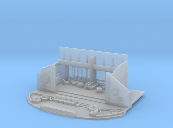 1/350 Refit Officer's Lounge Replacement 3d printed