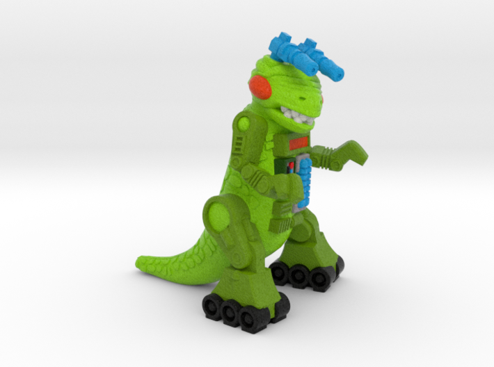 "Ampzilla Figurine (2"", 1.75"" and 1"") 3d printed"