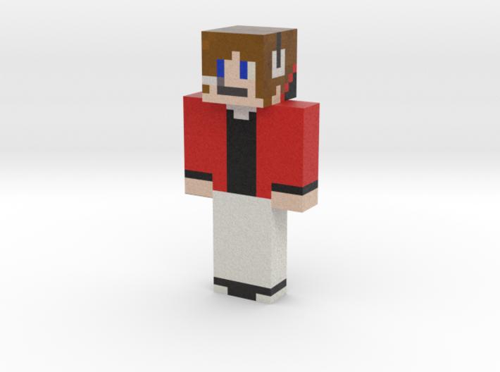 Skin | Minecraft toy 3d printed