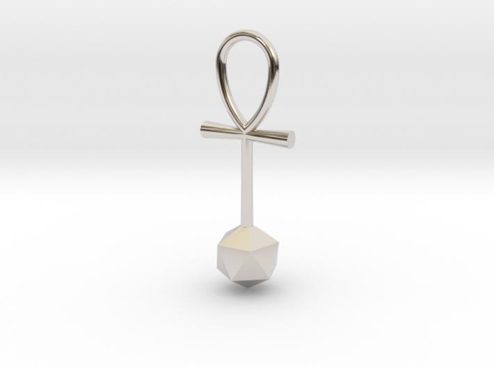 Icosahedron_energy_pendant 3d printed