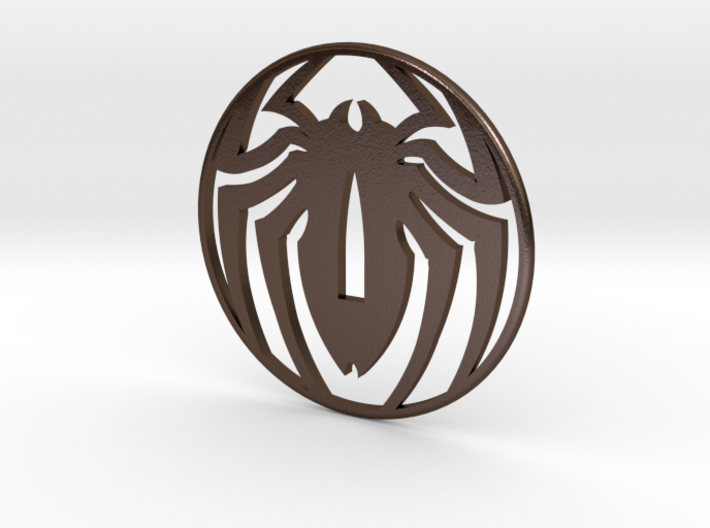 Tsuba spidey, thank you Stan , by Stef, and Pascal 3d printed