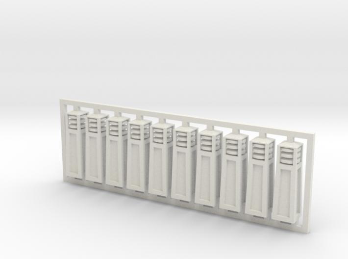 Bollards - Architectural Lighting 3d printed