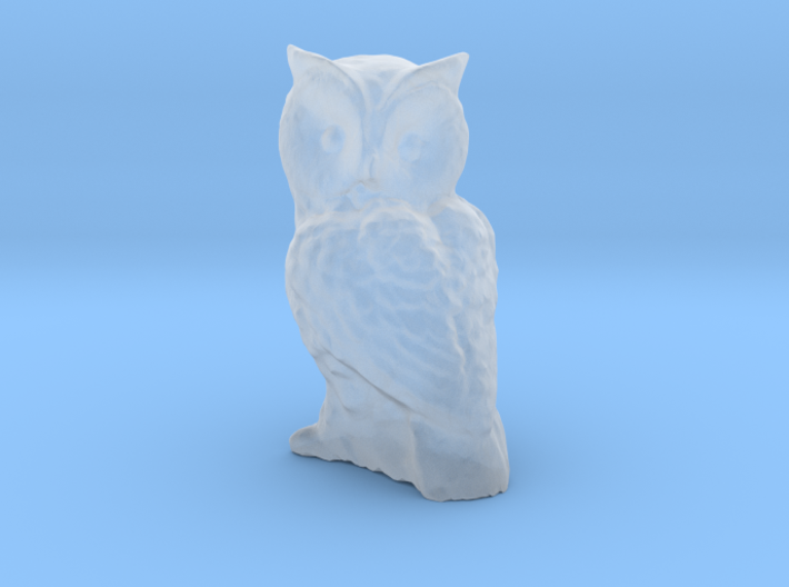 1-35 scale owl 3d printed This is a render not a picture