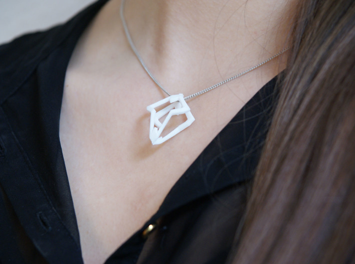 HEART TO HEART Heartronica, Pendant 3d printed