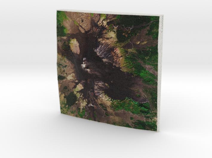 Mt. Etna, Sicily, Italy, 1:100000 Explorer 3d printed