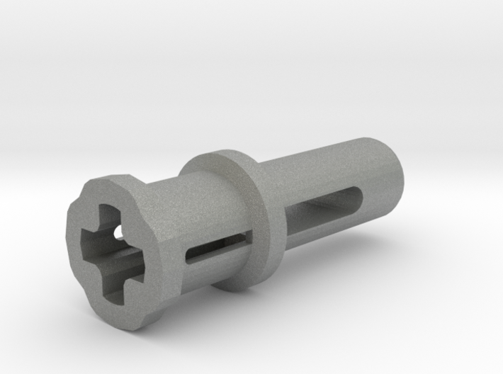 Toy Handle: Cross Hole 3d printed