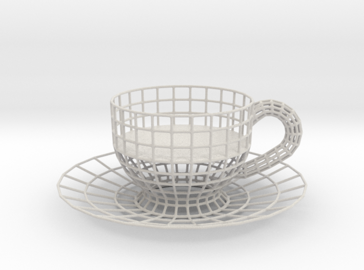 Cup Tealight Holder 3d printed