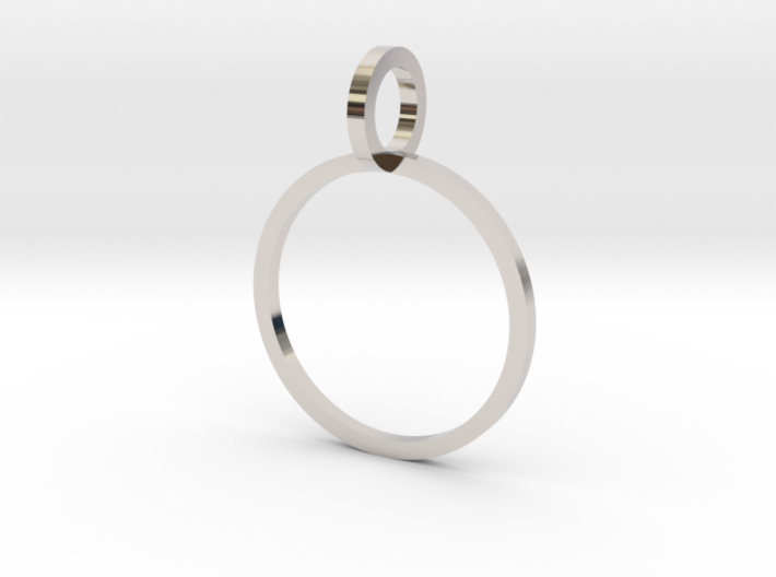 Charm Ring 14.56mm 3d printed