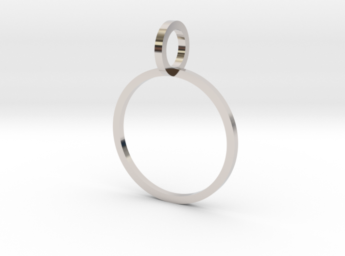 Charm Ring 15.27mm 3d printed