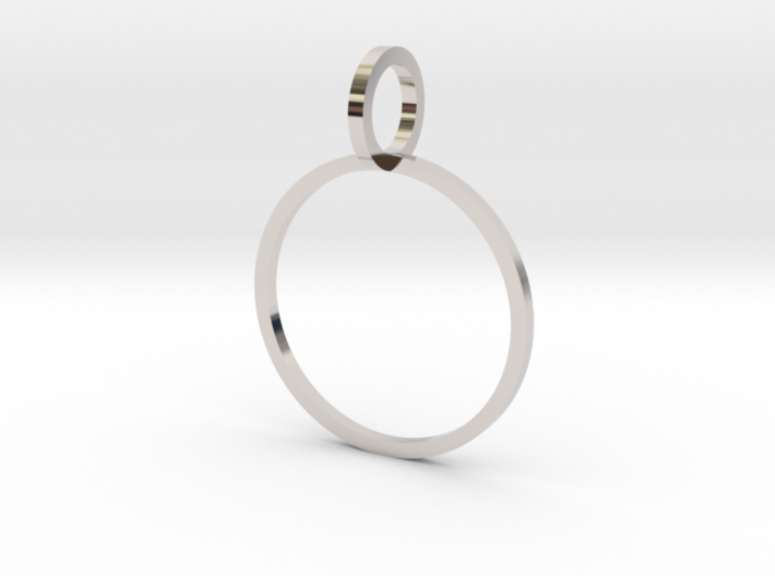 Charm Ring 16.92mm 3d printed