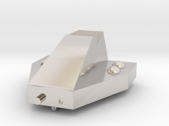 Ferret Tiny Grav Assault Sled Skids Down 25mm 3d printed